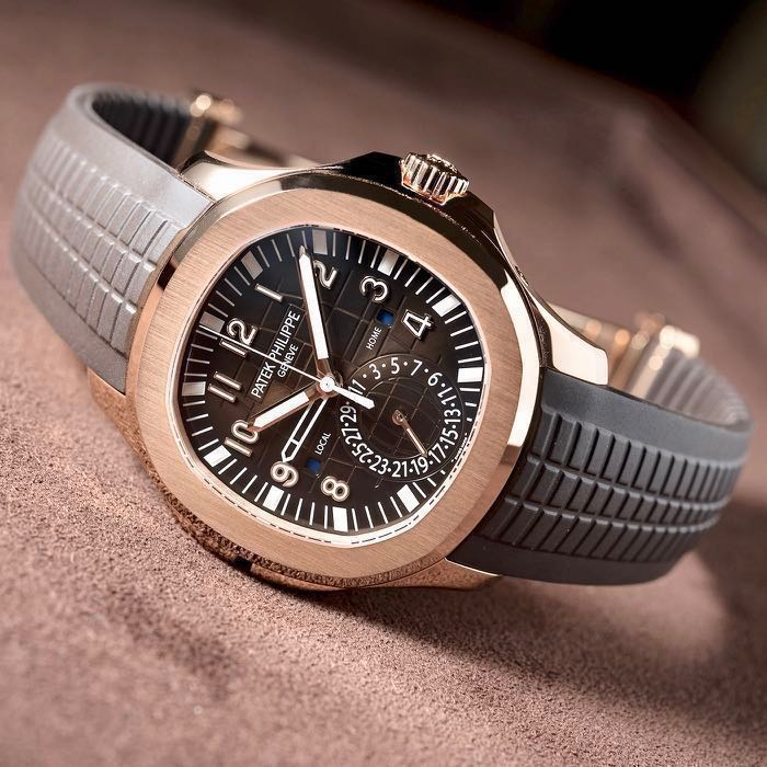 Patek Philippe Aquanaut Travel Time Rg
