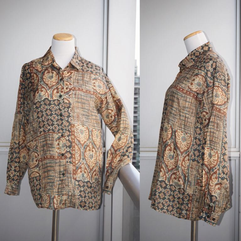 *Perfect Condition* Evidence 100% Silk Blouse Women Size S