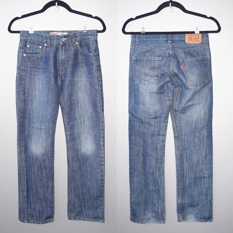 """*Perfect Condition* Levi's 514 Straight Jeans (Waist 26"""")"""