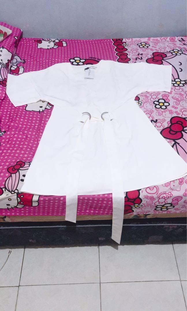 Pomelo white dress