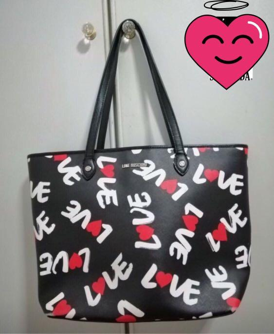 Preloved Love Moschino Large Tote Bag