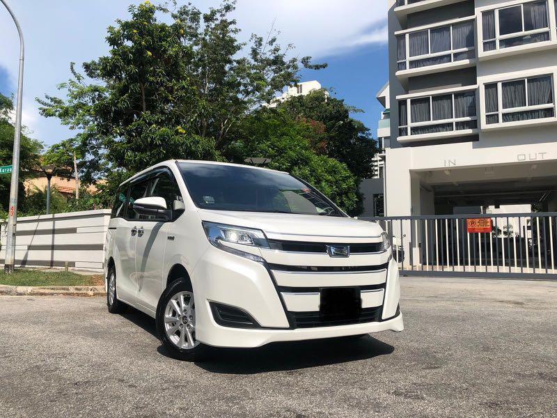 Rental Toyota Noah Hybrid 1.8X CVT