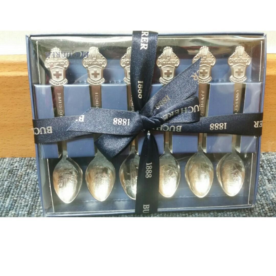 Rolex 匙 Gift Set (1套6城市)Spoon 全新正貨~現貨