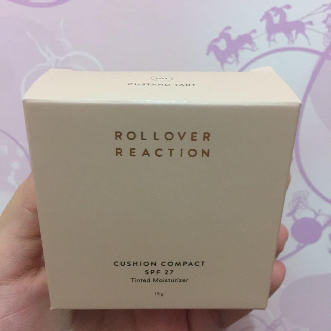 Rollover Reaction Cushion - 101 Custard Tart