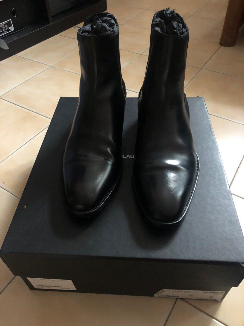 8cbb6118622 Final Price ) Saint Laurent Wyatt 30 Chelsea boots, Men's Fashion ...