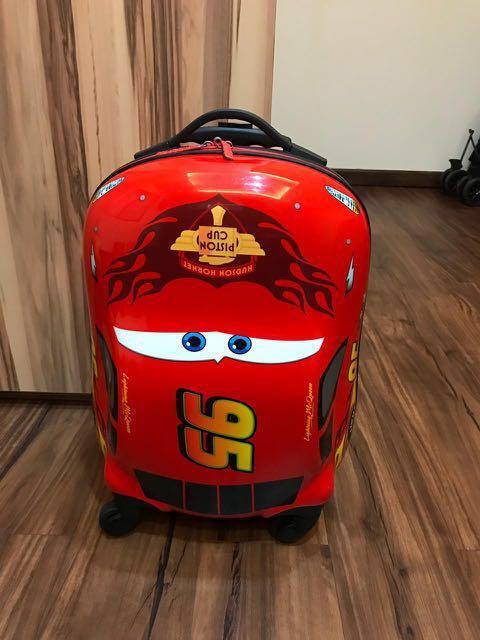 Samsonite Luggage 16 inch Cars Disney Koper Anak Lightning Mcqueen