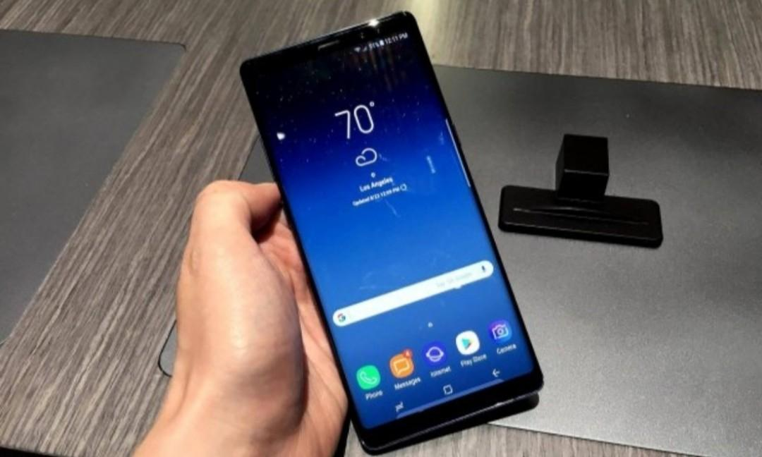 Samsung Note 8 kondisi Normal 4/64 Midnight Black