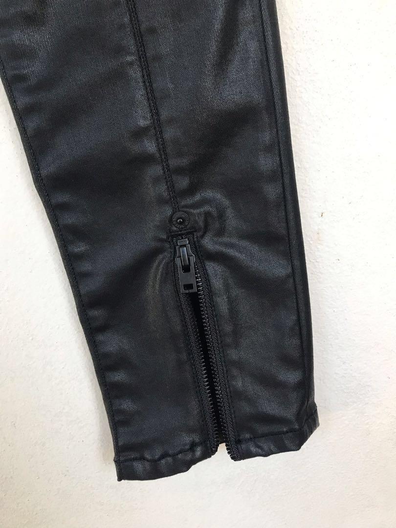 SASS & BIDE Sonic Rider Black Wax Jean - Size 27 - RRP $250