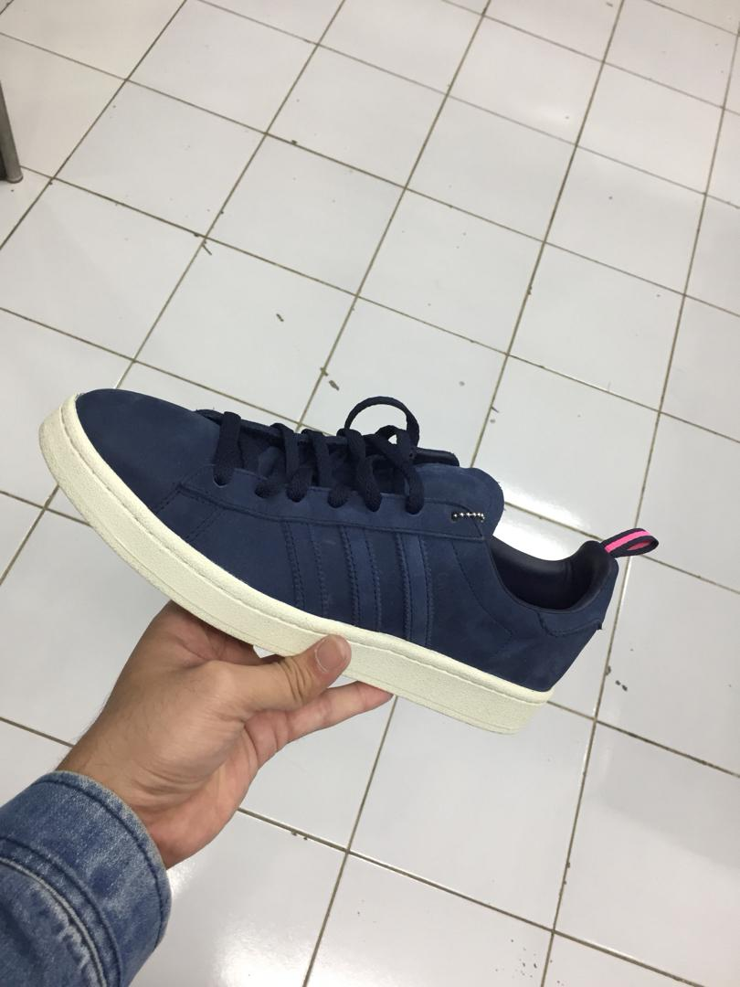 Sepatu Adidas Original Campus Legend Ink Navy, Men's Fashion