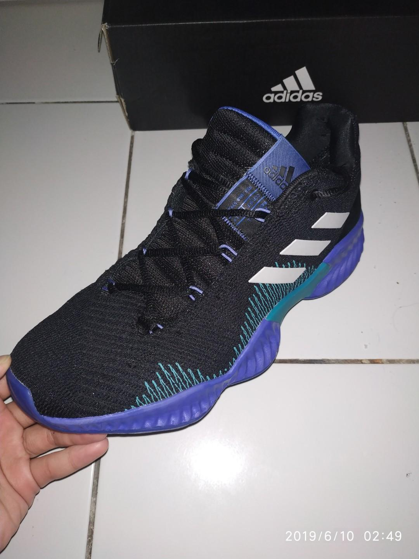 Sepatu basket adidas pro bounce low (original)