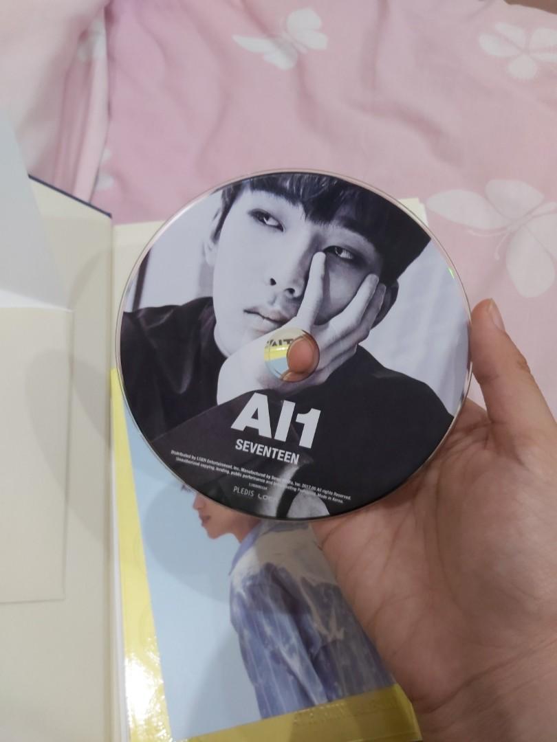 Seventeen 4th Album (Al1 version)