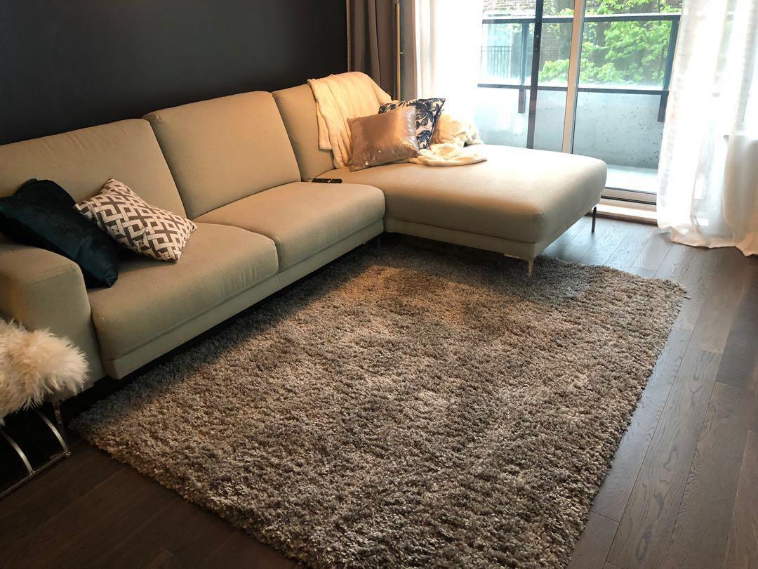 Shag rug 80.  $ 5 x 7