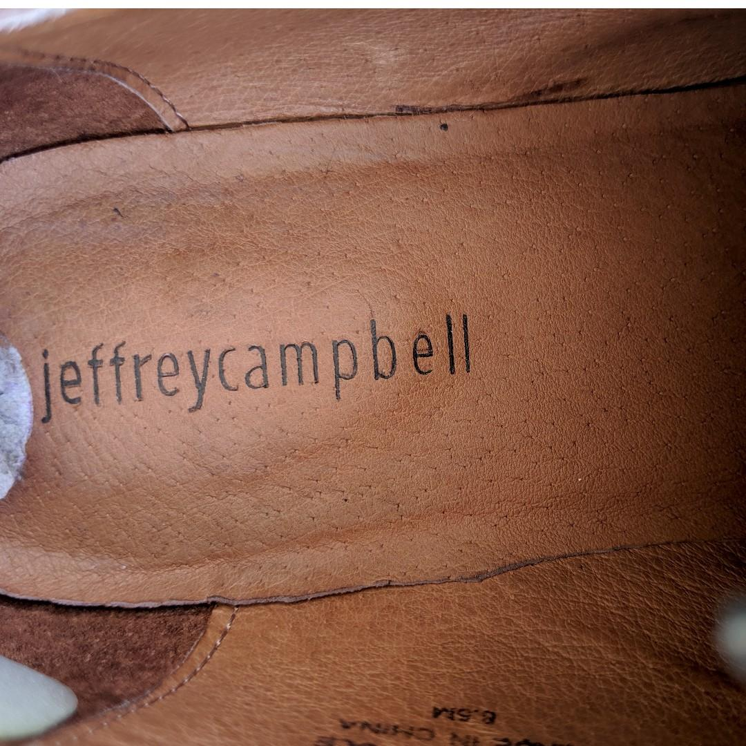 SIZE 8 (women's) JEFFREY CAMPBELL almost new loafers *MOVING*