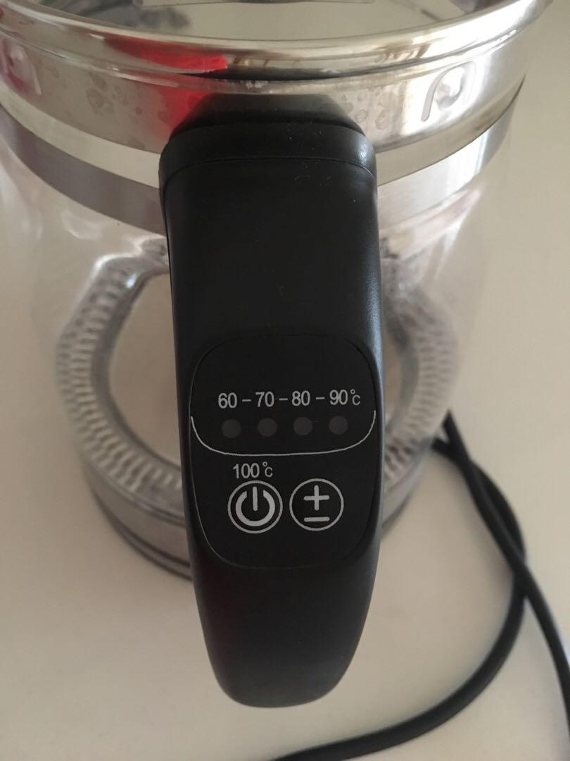 Sona temperature control kettle ( with warranty card and receipt)