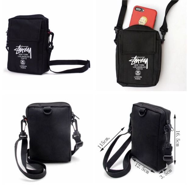 69088ff6a Stussy crossbody sling bag, Men's Fashion, Bags & Wallets, Sling ...