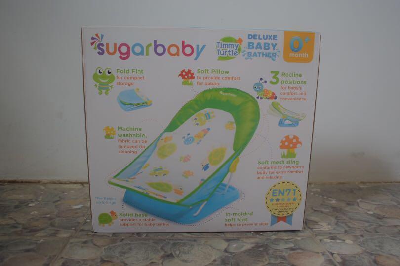 Sugar Baby Deluxe Baby Bather Tummy Turtle