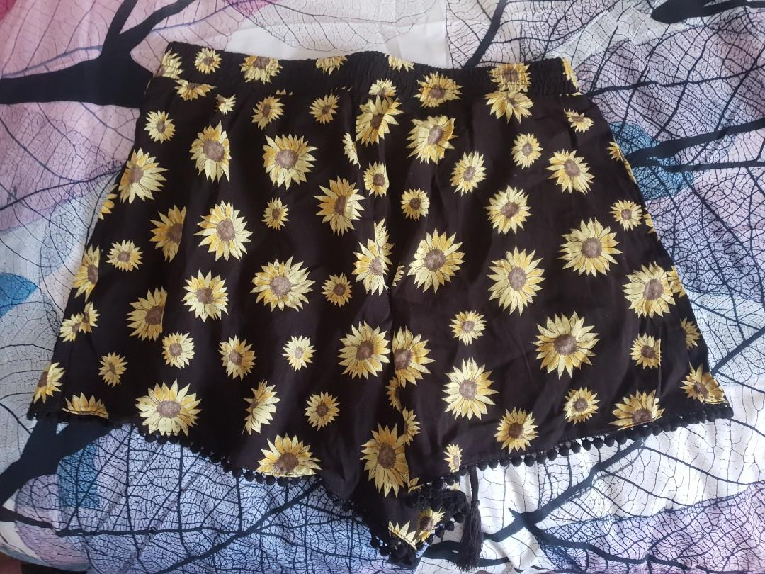 Sunflower shorts, Cotton on. Brand new with tags