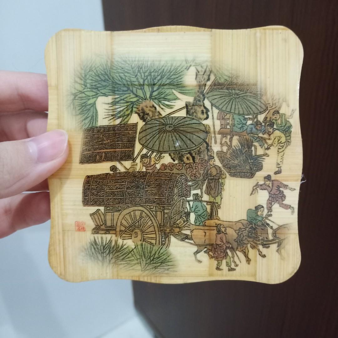 Tatakan gelas/cup antik