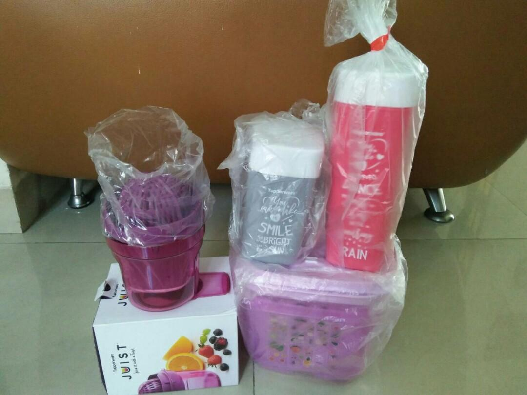 Tupperware Juicer + Ventmart Box