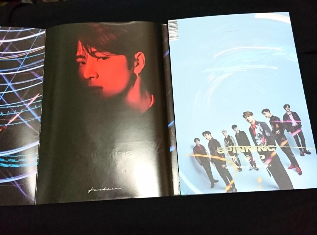 [WTS] GOT7 Spinning Top - Album Only (Jackson Set)