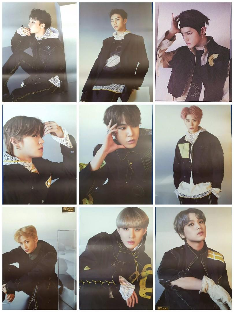 [WTS] NCT 127 Superhuman Album Member Poster