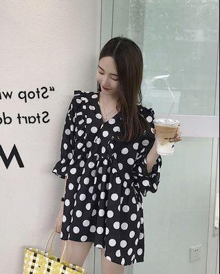 E90343超仙溫柔連衣裙