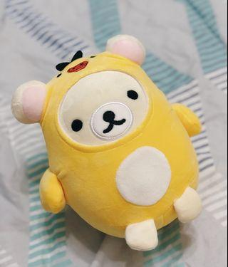 Genuine Cute white Rilakuma plush toy (Ready Stock)