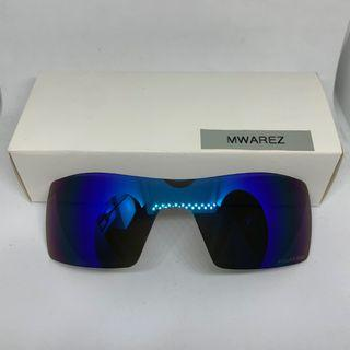 Oil Rig Ice Blue DYM Replacement Lenses for Oakley Oil Rig Sunglasses