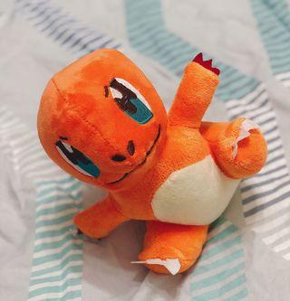Genuine Cute pokemon charmander plushed toys 正品喷火龙玩具 (Ready Stock)