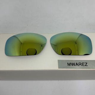 Scalpel Gold POLARIZED Replacement Lenses for Oakley Scalpel Sunglasses