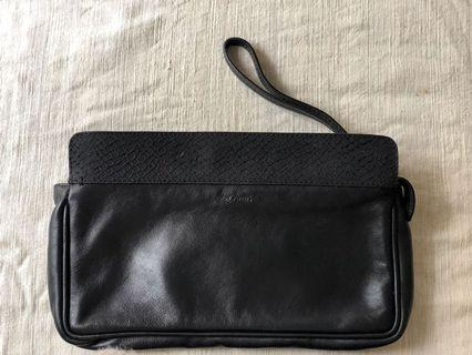 &other stories clutch with dust bag