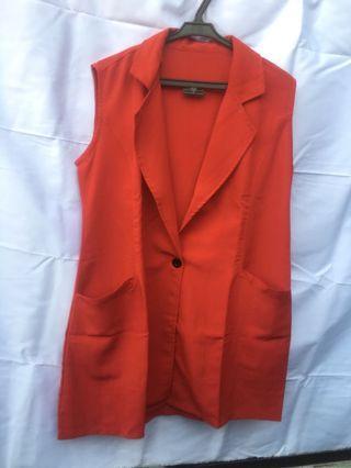 Red Vest Cardigan