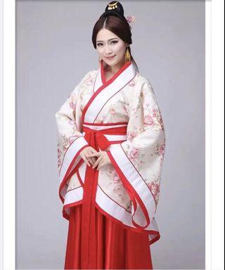 (Rent) Cosplay Traditional Chinese Dress Performance Gift