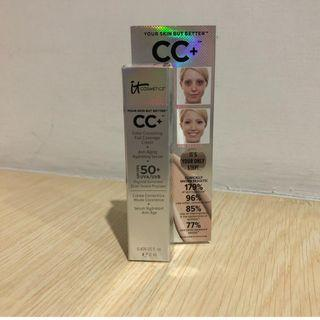 IT Cosmetics Your Skin But Better CC+ Cream with SPF 50+ 12 ml travel size shade medium