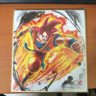 龍珠 色紙ART 8 - 紅悟空 (Dragonball 超 Dragon Ball Z ART )