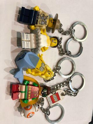 LEGO Original Keychain (5 in a pack)
