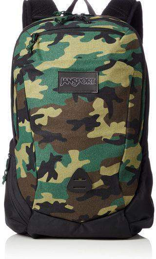 🚚 Jansport Camo Backpack