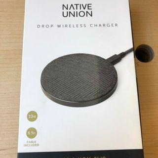 Native Union Drop High Speed Qi Fast Wireless Charger 10W