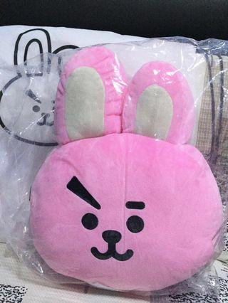 WTS Official BT21 Cooky 30 cm Cushion & Soft Deco Sticker + Free Gifts 🎁