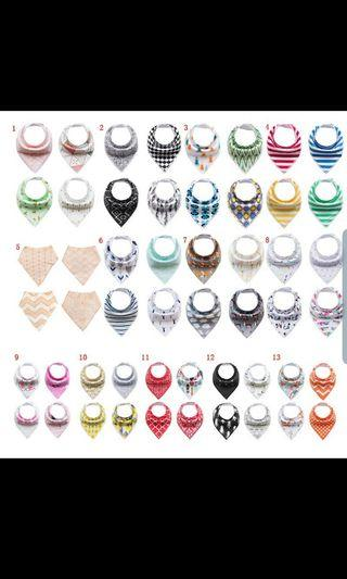 🚚 Baby bibs (9 sets to choose from!)