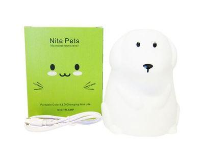 Nite pets color changing night lamp