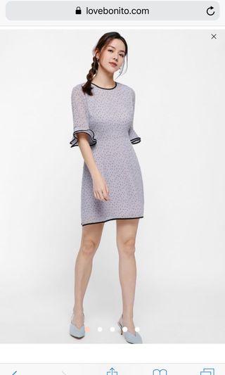 🚚 Love bonito Karlee Ruffle Hem Dress