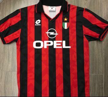 AC 米蘭 Milan 94/95 球衣波衫 二手 L