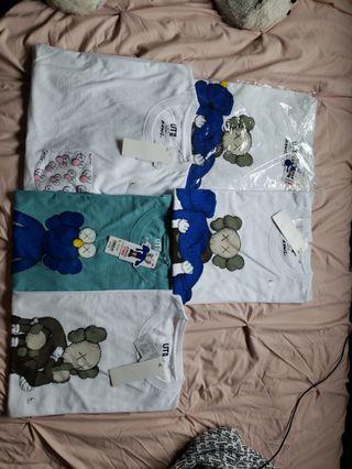 Kaws x Uniqlo Tshirts
