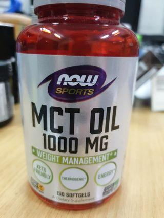 NOW SPORTS MCY OIL