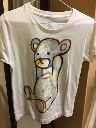 🚚 Design Tshirts store graniph 白t