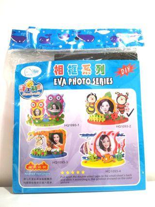DIY Eva Foam Art Photo Frame