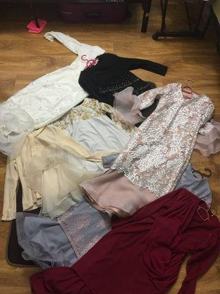 Baju kurung for rent