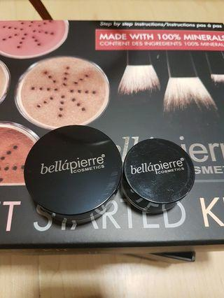 Bellapierre Mineral Foundation and Mineral eyeshadow