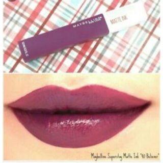 Maybelline Superstay Liquid Lipstick